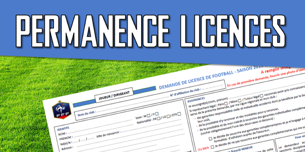 Flash Info Permanence Licence foot.